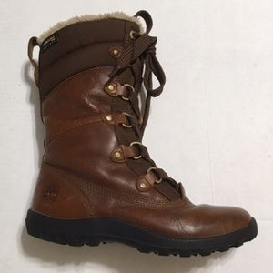 Timberland Women's Leather Lace-up Boots 6
